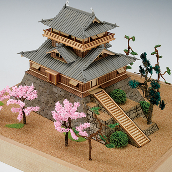 Quot Maruoka Castle Quot Wooden Japanese Castle Model By Woody Joe