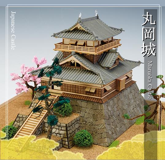 Quot Maruoka Castle Quot Wooden Japanese Castle Model By Woody Joe